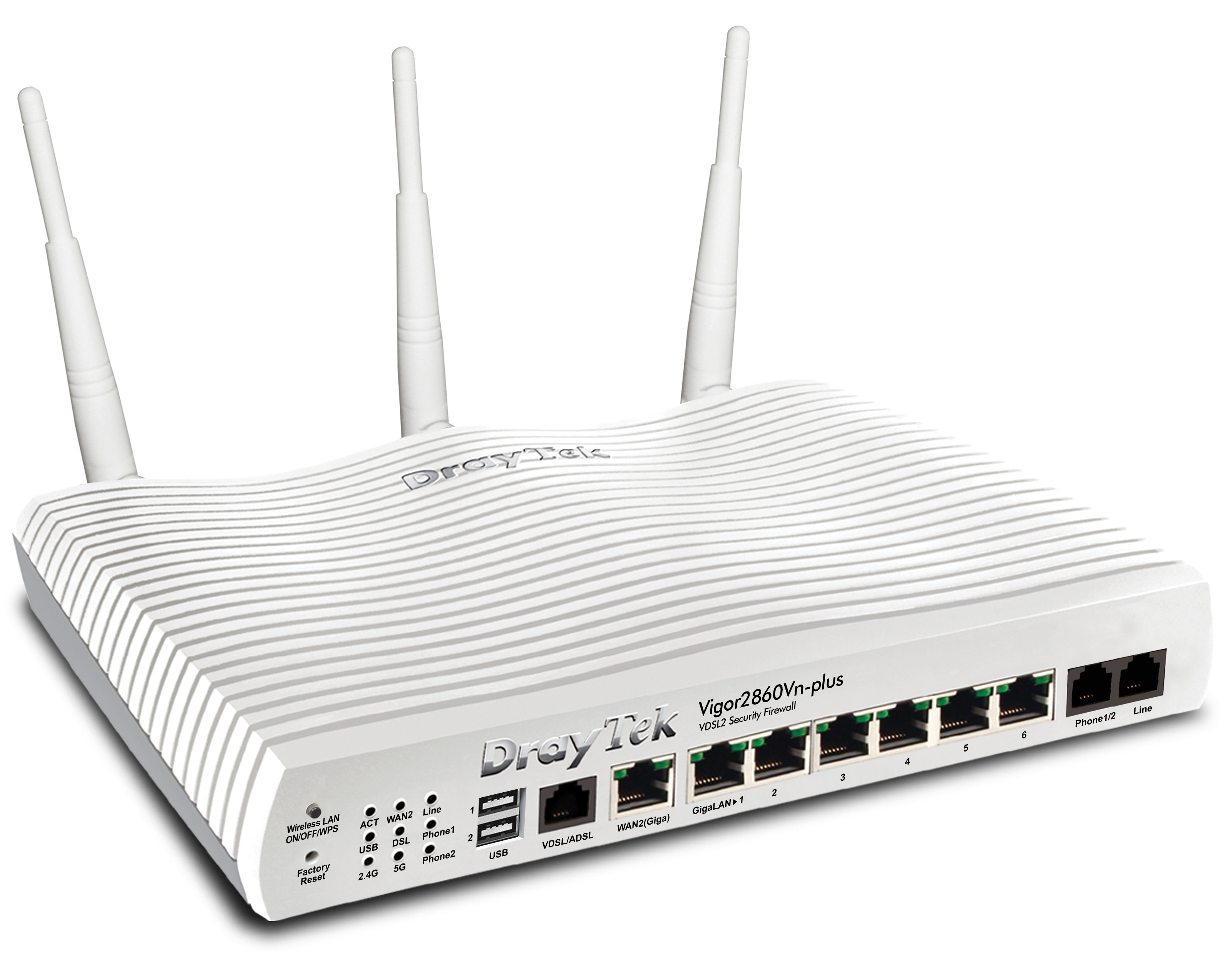 VDSL2-Sicherheits-Firewall Vigor 2860-Serie