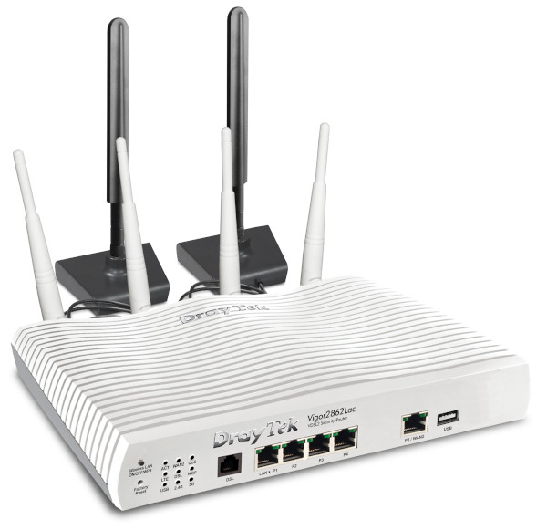 VDSL2-Sicherheits-Firewall-LTE-Vigor 2862-Serie