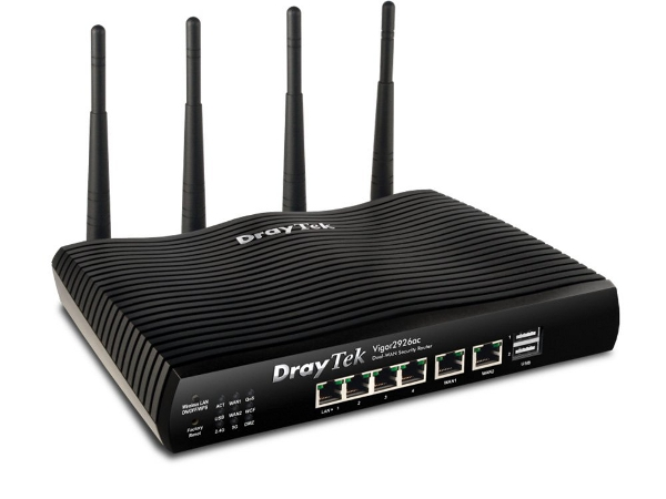 Dual-WAN Security-Router Vigor 2926-Serie