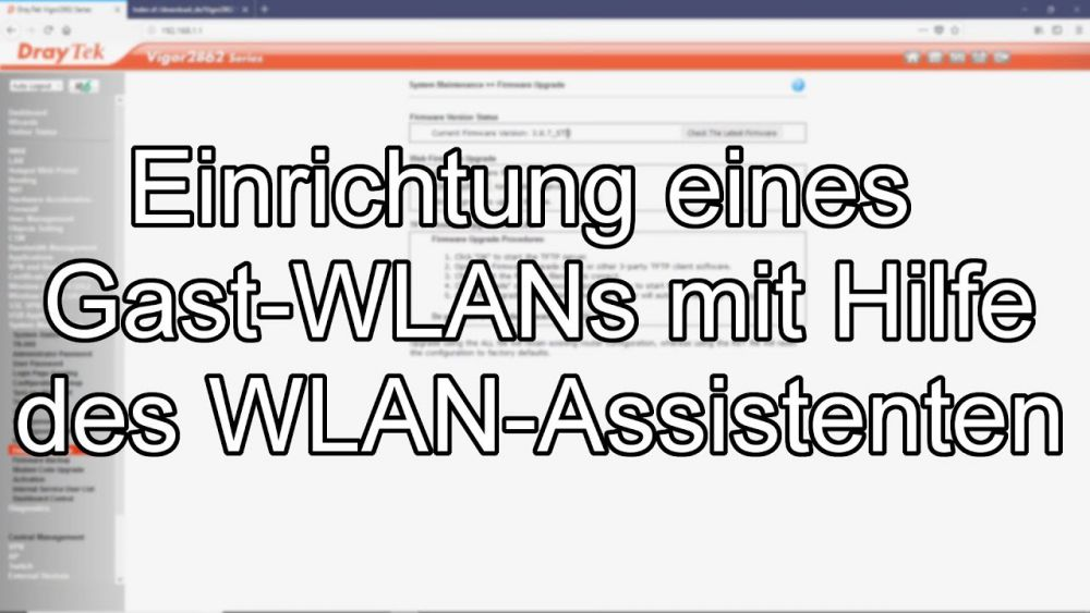 Screencast-Gast-WLAN
